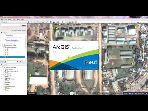 Part 53. How to Georeference High Resolution Satellite Imagery from Google Earth Software