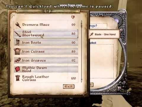The Best Oblivion Sword Ever