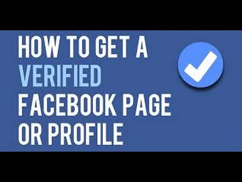 How to get your page verified on facebook!!!