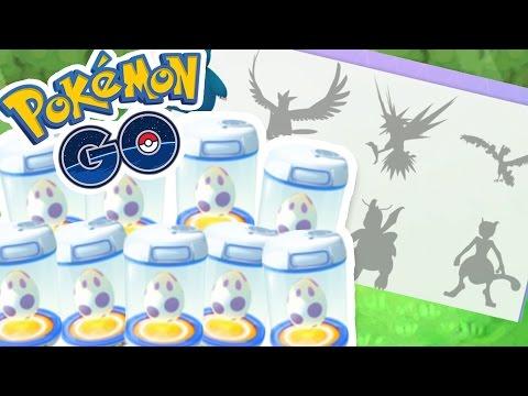 HATCHING 9 10KM MYSTERY EGGS!! | Pokémon GO w/ThinksWife