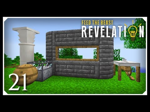 How To Play FTB Revelation | Builder's Wand, Chisel & ArchitectureCraft! | E21 Modded For Beginners