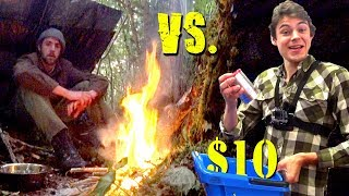 1 VS 1 Dollar Store Survival Challenge