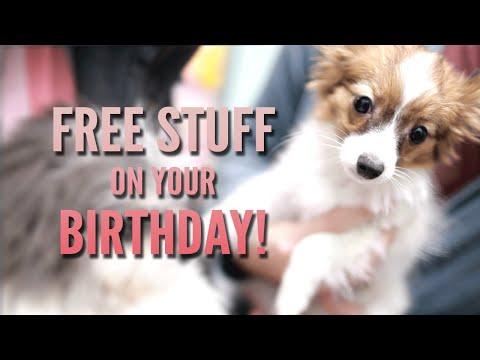 Free Stuff On Your Birthday!