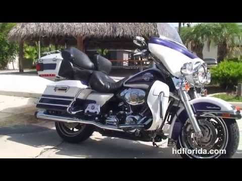 Used 2007 Harley Davidson Ultra Classic Electra Glide Motorcycles for sale - Dunedin, FL