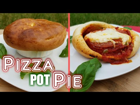 Pizza Pot Pie Recipe - What's For Din'? - Courtney Budzyn - Recipe 55
