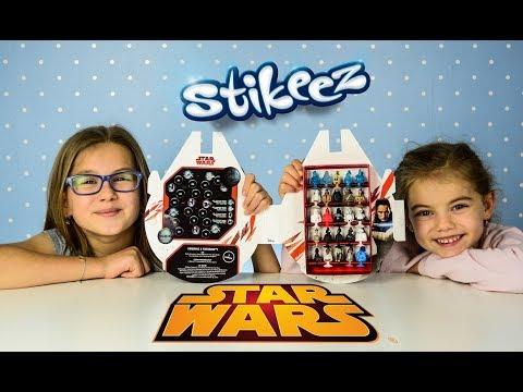 25 STIKEEZ STAR WARS FULL COLLECTION LIDL Album kolekcjonerski Stikeez Star Wars