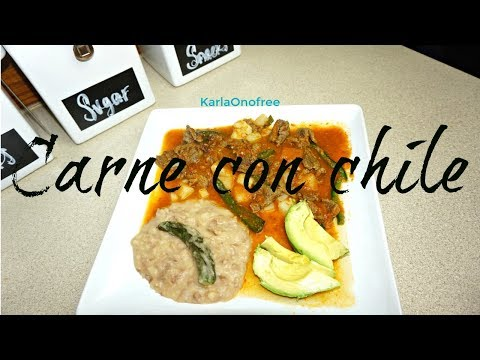 Carne con Chile | KarlaOnofree