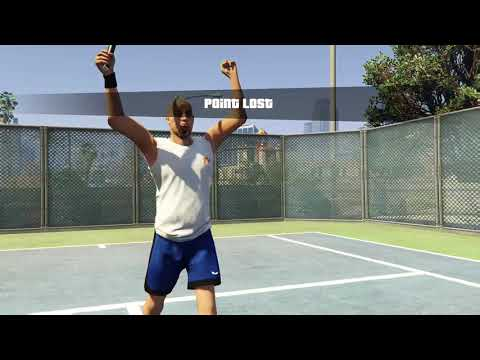 This is how I won a tennis match in GTA IV part 1
