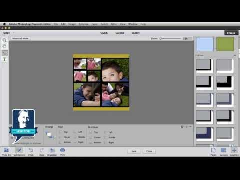 Create a Photo Collage in Photoshop Elements 11