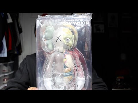 KAWS Companion unboxing ALL 6!
