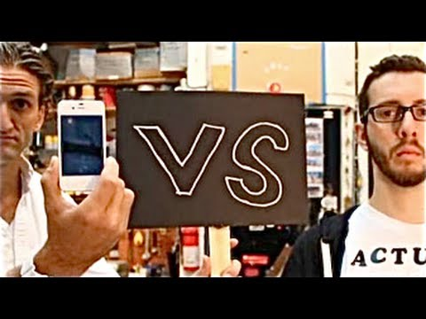 iPhone's Siri vs. My Human Assistant by Casey Neistat