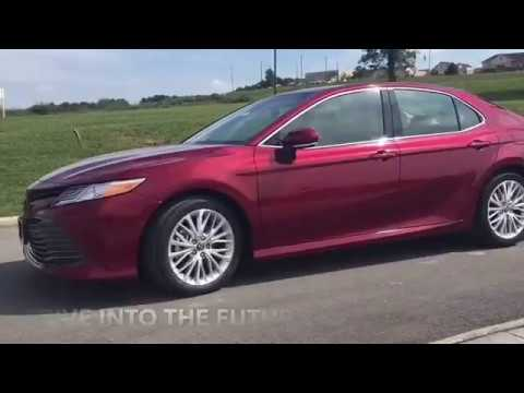 Drive into the future in a 2018 Camry
