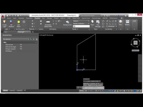 AutoCAD 2016 Beyond the Basics - Using The User Coordinate System