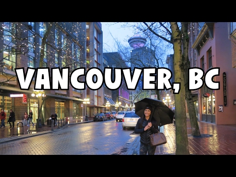 PLACES TO EAT AROUND VANCOUVER LOOKOUT, GASTOWN, CHINA TOWN   Vancouver, BC Travel Vlog