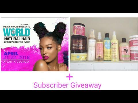2018 Taliah Waajid Natural Hair Show, Product Reviews & Giveaway