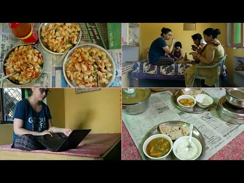 Mummy Cooked for Us- Morning to Evening In Mom's House