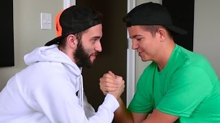 WHO WOULD WIN IN AN ARM WRESTLE?... (Q&A WITH POOFLESS!)