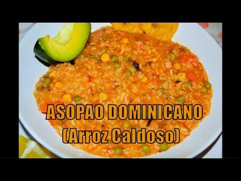 Asopao de pollo | Receta dominicana