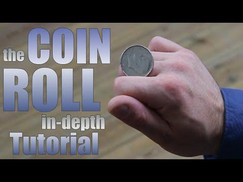 the COIN ROLL - MAGiC TRiCK | tutorial coin flourish