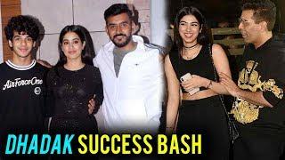 Dhadak Success BASH   Janhvi Kapoor, Ishaan Khatter, Karan Johar, Shashank Khaitan