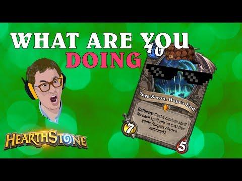 Hearthstone - Inhumane Yogg Showdown