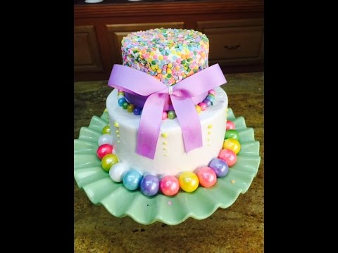 Candy and Sprinkles Cake / Cake Decorating