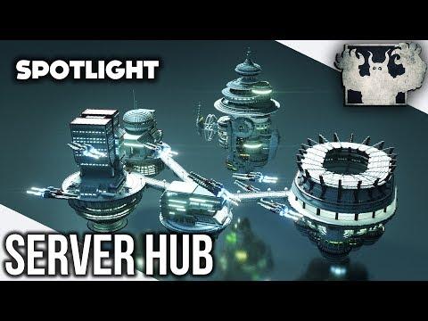 Minecraft Server Hub | Modern [Spotlight]