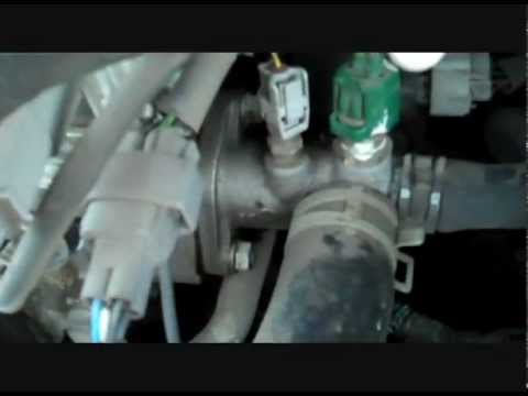 How to replace the Coolant Temperature Sensor 2001 Toyota Camry Solara 4cylinder