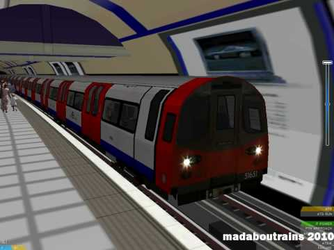 OpenBVE - Euston to Camden Town