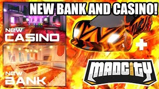 [FULL GUIDE] NEW BANK and CASINO ROBBERY UPDATE | Roblox Mad City