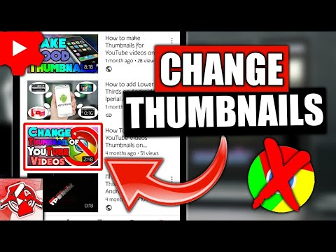 How to change thumbnail on youtube video 2017 android