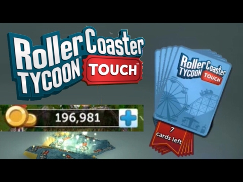 More Packs, Saving Money And a Little Building   Roller Coaster Tycoon Touch   RCT Touch   #7