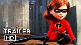 Incredibles 2 Official Trailer 2 2018 Disney Animated Superhero Movie Hd