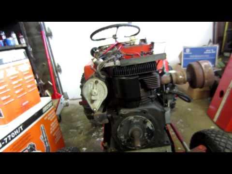 Stripped spark plug repair Briggs and Stratton engine part 1