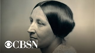 Susan B. Anthony cast her illegal vote Monday in 1872