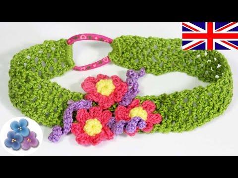 Headband Tutorial 20 minutes - How to make a Headband - Crochet Headband Mathie
