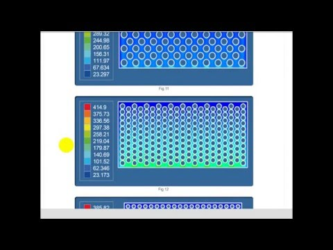Heat exchanger optimization. CFD optimization.