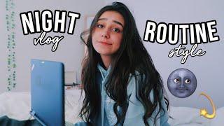 school night routine 2019!