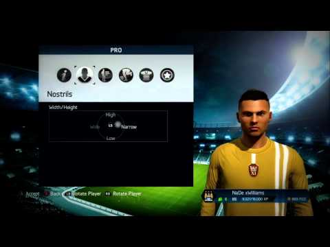 FIFA 14 - How to make your player look like Cristiano Ronaldo