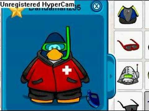 Club Penguin - Cool Outfits