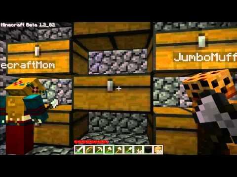 Minecraft Dad - Ep. 21 - Teaching Mom to Play Minecraft (Part 3)