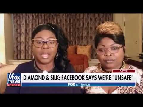 Diamond and Silk SLAMS Facebook for Labeling Them 'Unsafe to the Community'