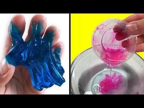 WATER SLIME! 💦 Testing NO GLUE Water Slime