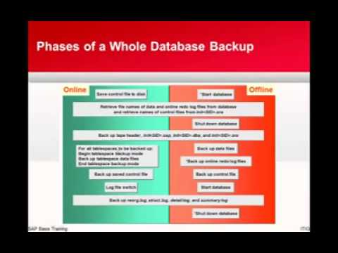 Scheduling, Performing & Monitoring Database Backup