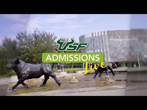 College Counselor Virtual Meet-and-Greet | USF Admissions Live