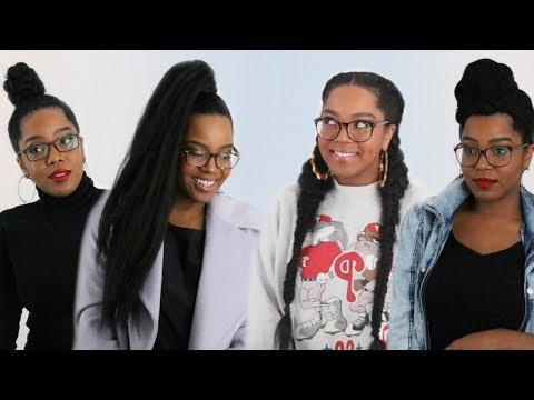 7 Protective Styles For Natural Hair | Eyeglasses & Hair | Melissa Denise
