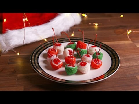 Holiday Cheery Bombs | Delish