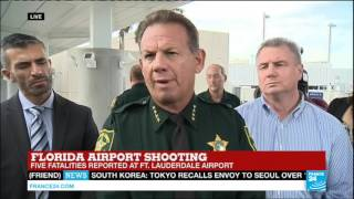 Florida airport shooting: authorities share press conference