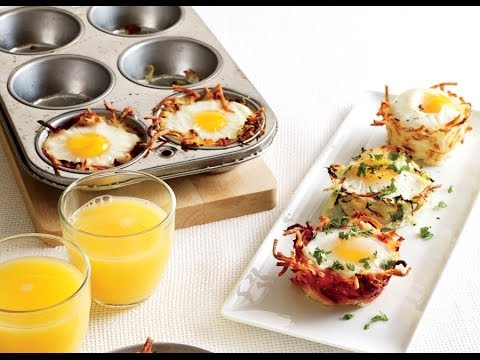 Wow! How to Make Egg Baskets | Cooking Light