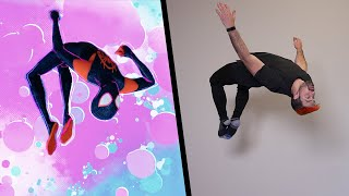Spider-Man: Into the Spider-Verse Stunts In Real Life